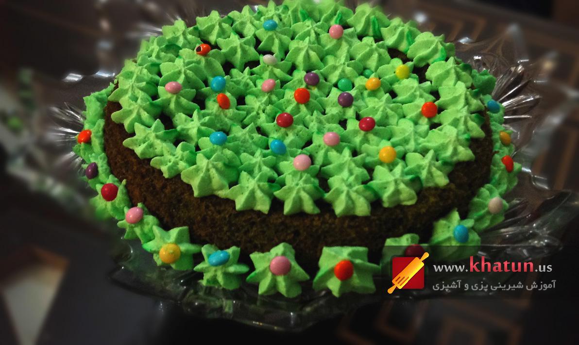 طرز تهیه کیک اسفناج + عکس
