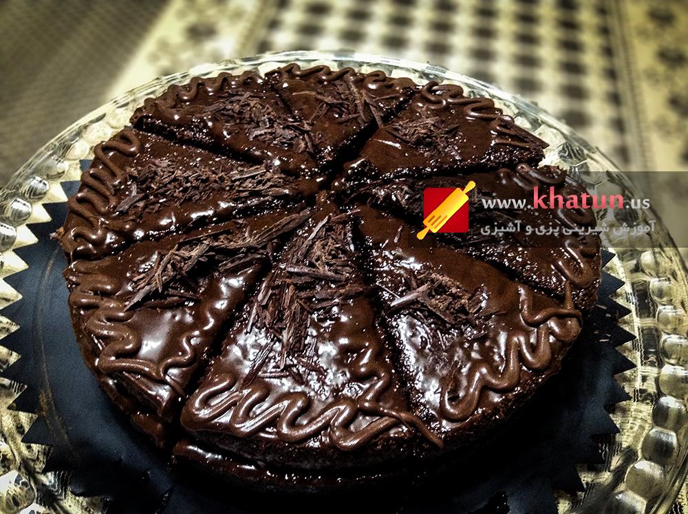 طرز تهیه کیک براونی + عکس