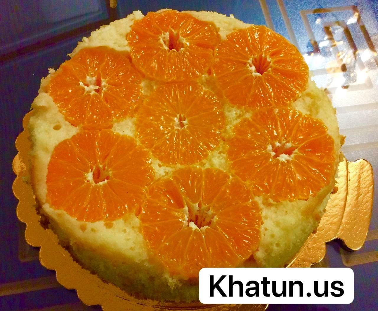 کیک نارنگی(1)