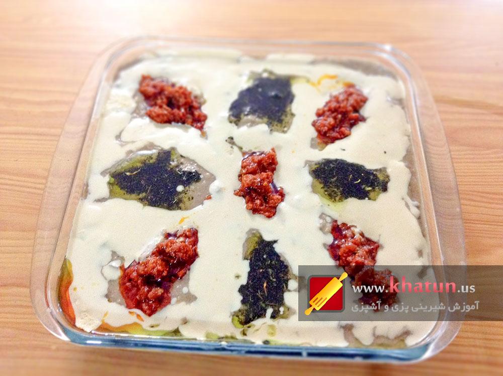 طرز تهیه طرز تهیه هلیم بادمجان با گردو + عکس