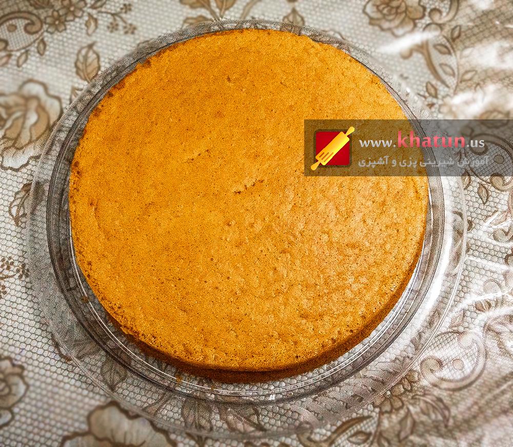 طرز تهیه کیک اسفنجی + عکس