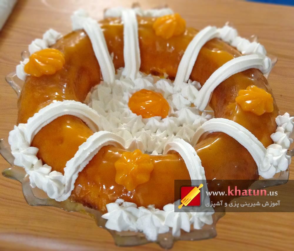 طرز تهیه کیک پرتقالی + عکس