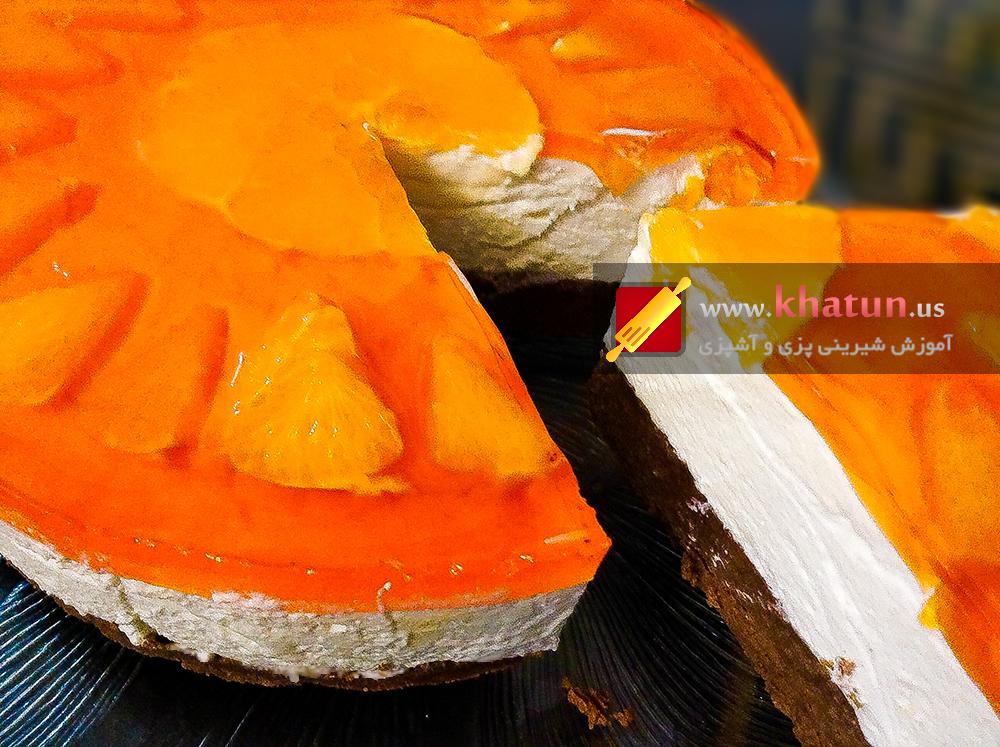 طرز تهیه چیزکیک بادامی + عکس