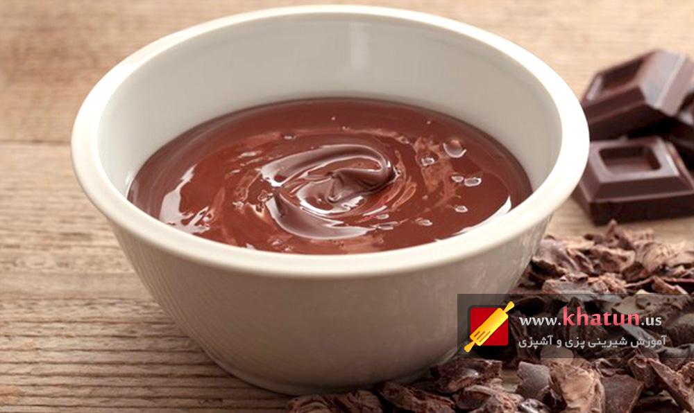 طرز تهیه سس شکلات + عکس