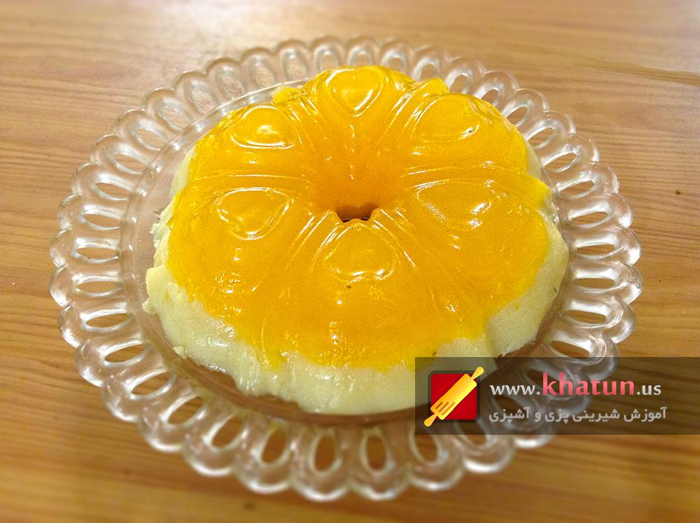 طرز تهیه ژله پرتقال + عکس