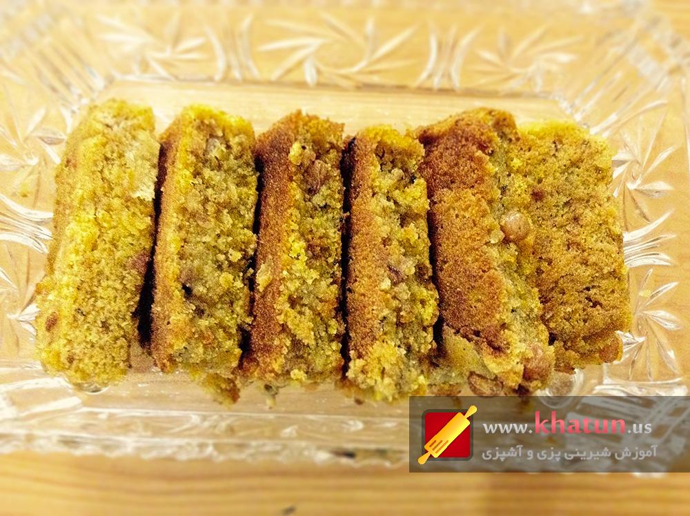طرز تهیه کیک کدو حلوایی + عکس