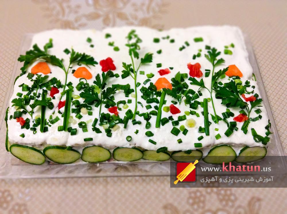 طرز تهیه کیک مرغ + عکس